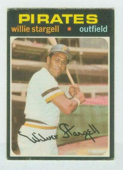 1971 O-Pee-Chee/OPC #230 Willie Stargell [#d] (Pirates) Baseball cards value