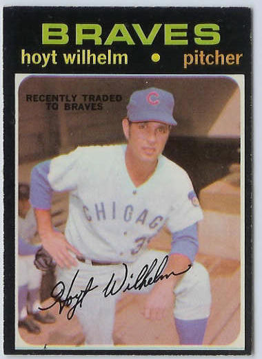 1971 O-Pee-Chee/OPC #248 Hoyt Wilhelm [#a] (Braves) Baseball cards value