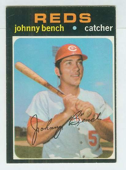 1971 O Pee Chee/OPC #250 Johnny Bench [#c]