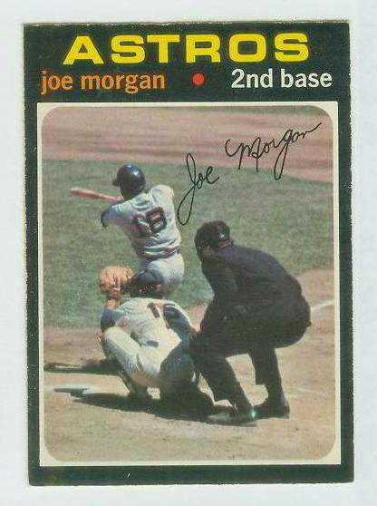 1971 O-Pee-Chee/OPC #264 Joe Morgan [#a] (Astros) Baseball cards value