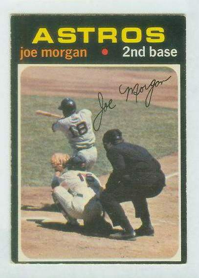 1971 O-Pee-Chee/OPC #264 Joe Morgan [#b] (Astros) Baseball cards value