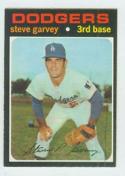 1971 O-Pee-Chee/OPC #341 Steve Garvey ROOKIE [#a] (Dodgers) Baseball cards value
