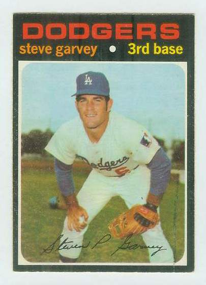 1971 O-Pee-Chee/OPC #341 Steve Garvey ROOKIE [#b] (Dodgers) Baseball cards value