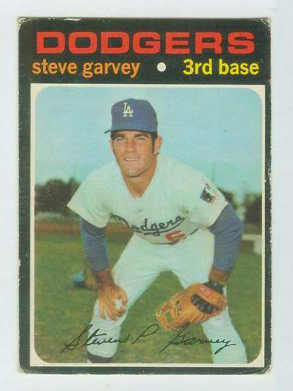1971 O-Pee-Chee/OPC #341 Steve Garvey ROOKIE [#c] (Dodgers) Baseball cards value