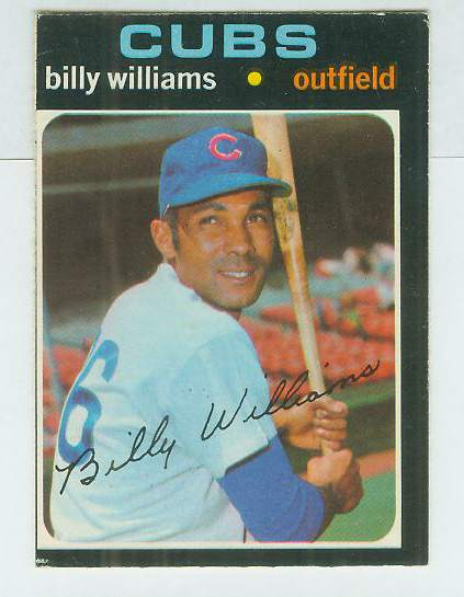 1971 O-Pee-Chee/OPC #350 Billy Williams (Cubs) Baseball cards value