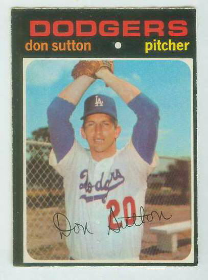 1971 O-Pee-Chee/OPC #361 Don Sutton [#c] (Dodgers) Baseball cards value