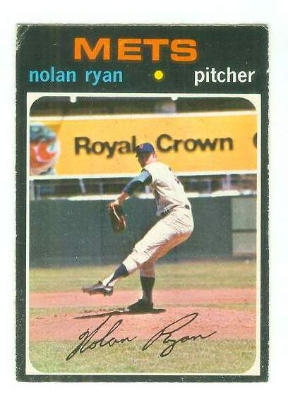 1971 O-Pee-Chee/OPC #513 Nolan Ryan [#b] (Mets) Baseball cards value