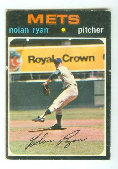 1971 O-Pee-Chee/OPC #513 Nolan Ryan [#c] (Mets) Baseball cards value
