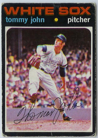 1971 O-Pee-Chee/OPC #520 Tommy John [#b] (White Sox) Baseball cards value