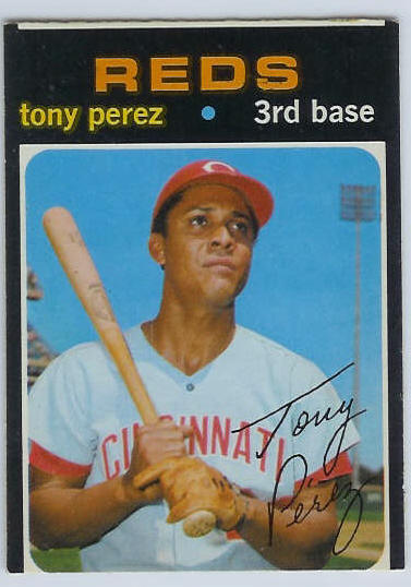 1971 O-Pee-Chee/OPC #580 Tony Perez [#a] SCARCE SEMI-HI# (Reds) Baseball cards value
