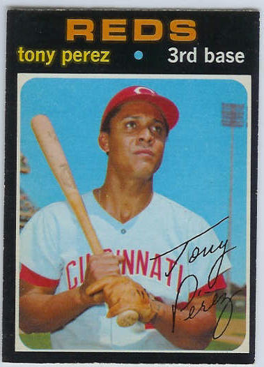 1971 O-Pee-Chee/OPC #580 Tony Perez [#b] (Reds) Baseball cards value