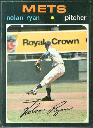 1971 Topps #513 Nolan Ryan [#b] (Mets) Baseball cards value