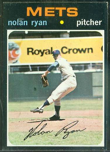 1971 Topps #513 Nolan Ryan [#c] (Mets) Baseball cards value
