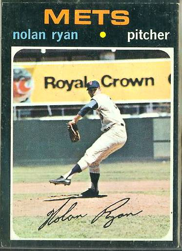 1971 Topps #513 Nolan Ryan [#d] (Mets) Baseball cards value