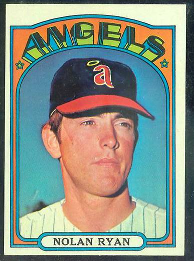 1972 Topps #595 Nolan Ryan [#a] (Angels) Baseball cards value