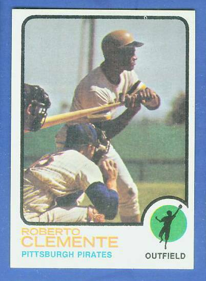 1973 Topps #.50 Roberto Clemente [#a] (Pirates) Baseball cards value
