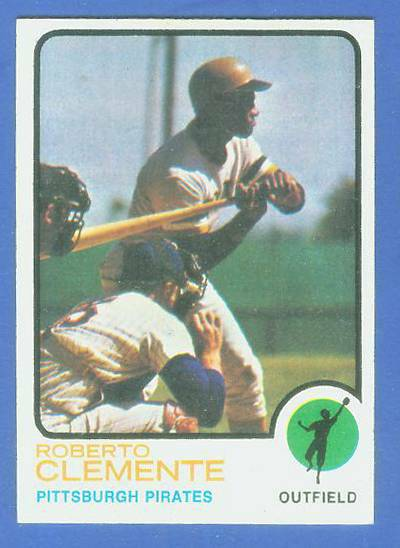 1973 Topps #.50 Roberto Clemente [#c] (Pirates) Baseball cards value