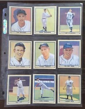 2003 Upper Deck - 1941 Play Ball Reprints - insert set (25) cards Baseball cards value