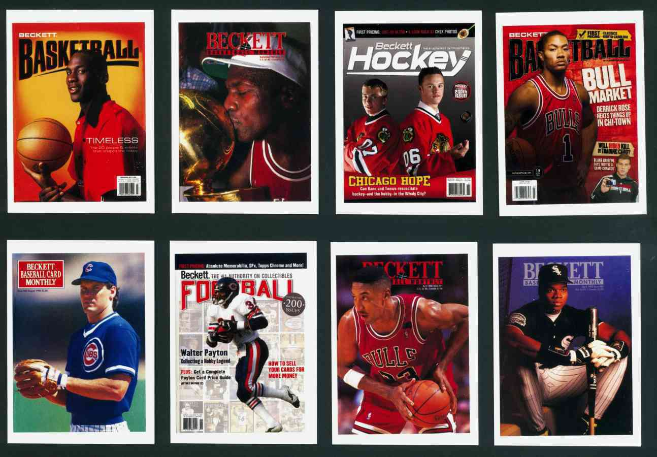 2013 Beckett Covers Promotional Card Michael Jordan Wairplane Limited