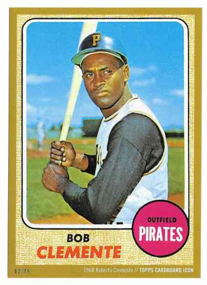 2015 Topps Cardboard Icon Gold 49 1968 Topps 150