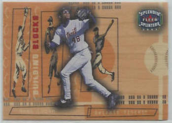 Nook Logan - 2003 Fleer Splendid Splinters 'Building Blocks' #145 (Tigers) Baseball cards value