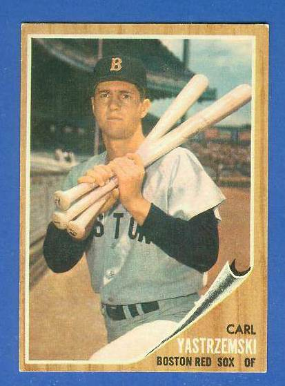 1962 Topps #425 Carl Yastrzemski [#b] (Red Sox) Baseball cards value