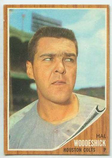 1962 Topps #526 Hal Woodeshick SHORT PRINT [#a] HIGH #.(Houston Colts) Baseball cards value