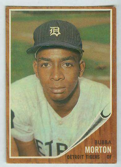 1962 Topps #554 Bubba Morton SHORT PRINT [#b] HIGH #.(Tigers) Baseball cards value