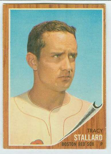 1962 Topps #567 Tracy Stallard SHORT PRINT HIGH # (Red Sox) Baseball cards value