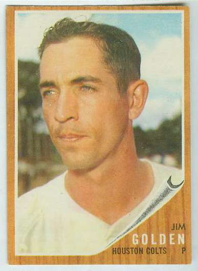 1962 Topps #568 Jim Golden [#a] HIGH #.(Houston Colts/Astros) Baseball cards value