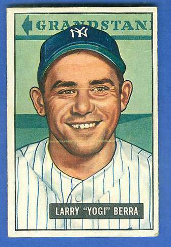 1951 Bowman #..2 Yogi Berra (Yankees) Baseball cards value