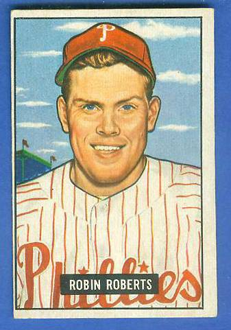 1951 Bowman #..3 Robin Roberts (Phillies) Baseball cards value