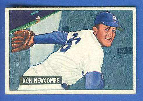 1951 Bowman #  6 Don Newcombe (Brooklyn Dodgers) Baseball cards value