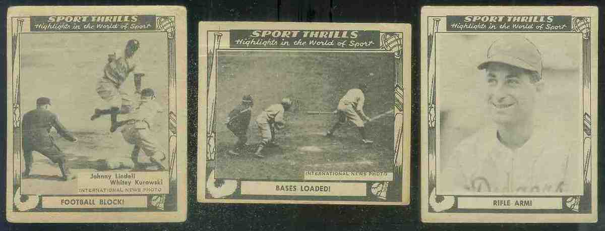 1948 Swell Sport Thrills #11 Grover Cleveland Alexander/Tony Lazzeri Baseball cards value