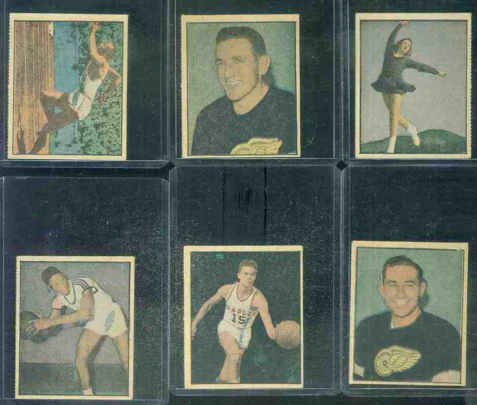1951 Berk Ross #3-11 Paul Unruh (Bradley) Basketball cards value