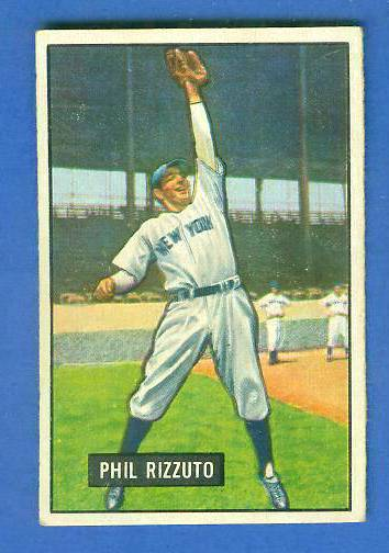 1951 Bowman #.26 Phil Rizzuto (Yankees) Baseball cards value