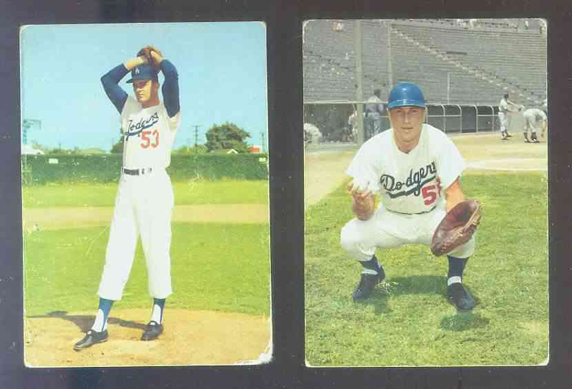 1959 Morrell Meats Dodgers #1 Don Drysdale Baseball cards value