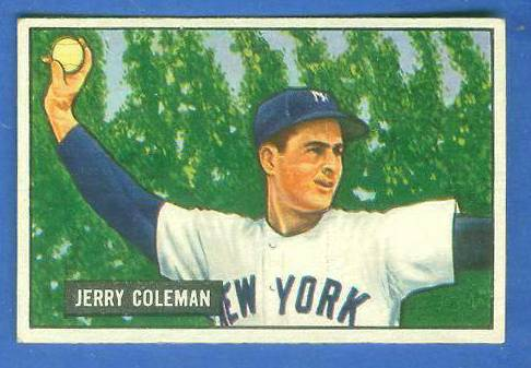 1951 Bowman #.49 Jerry Coleman (Yankees) Baseball cards value