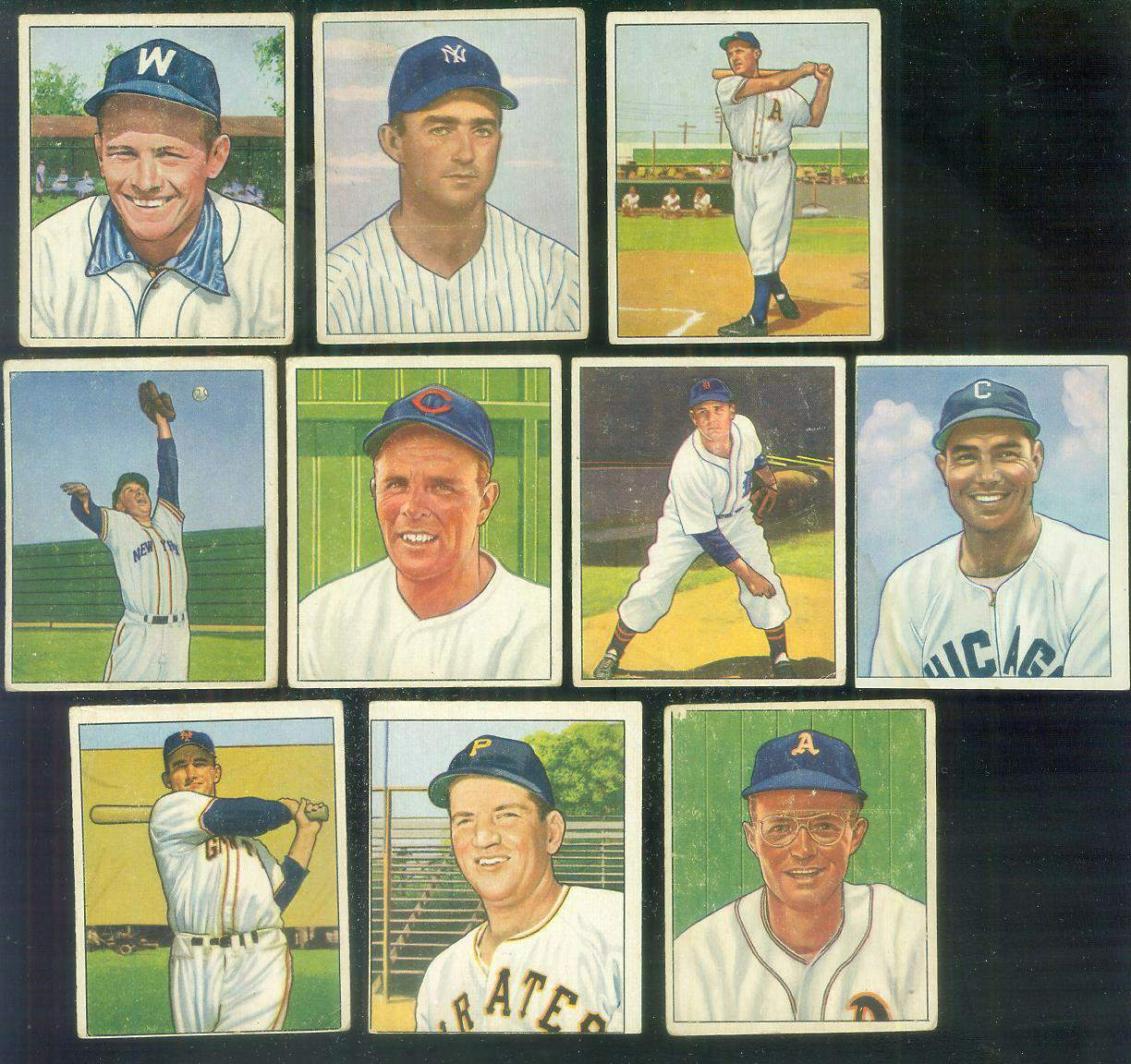 1950 Bowman #.96 Virgil Trucks [#sc] (Tigers) Baseball cards value