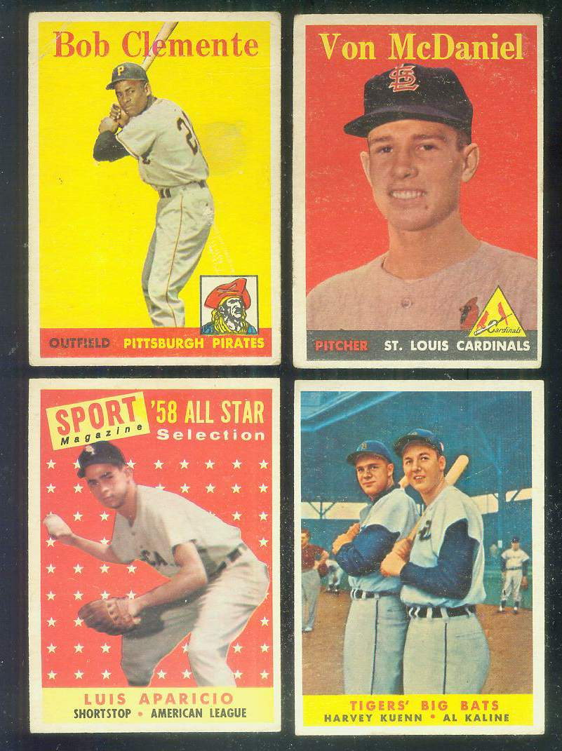 1958 Topps #483 Luis Aparicio All-Star [#a] (White Sox) Baseball cards value