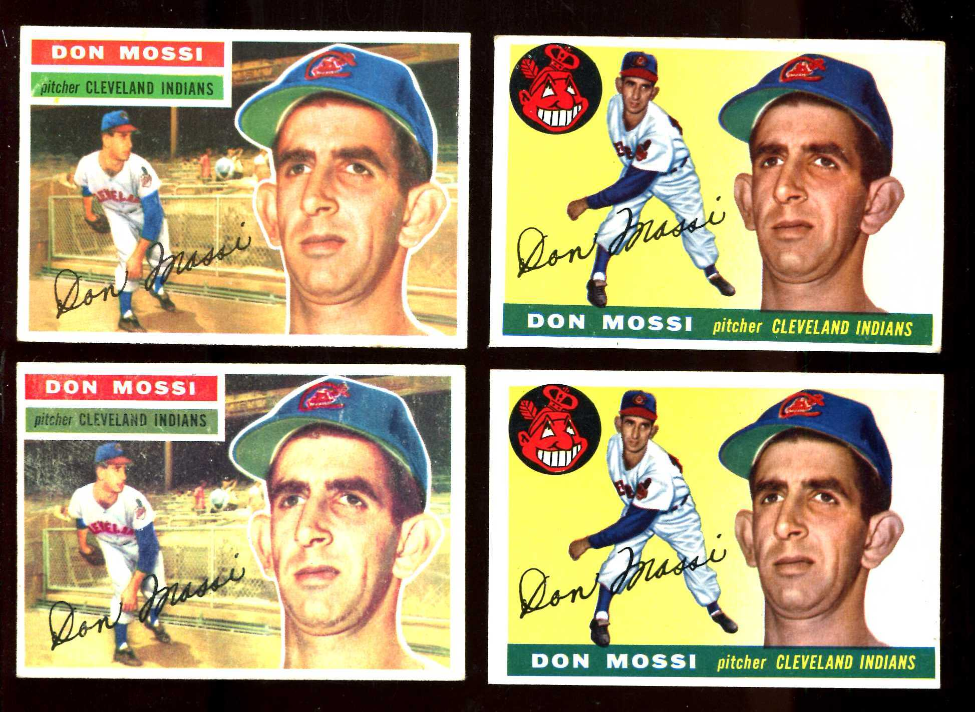 1955 Topps # 85 Don Mossi ROOKIE (Indians) Baseball cards value