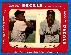 1952 Star Cal Decal [small] #90-A WILLIE MAYS/Monte Irvin (Giants)