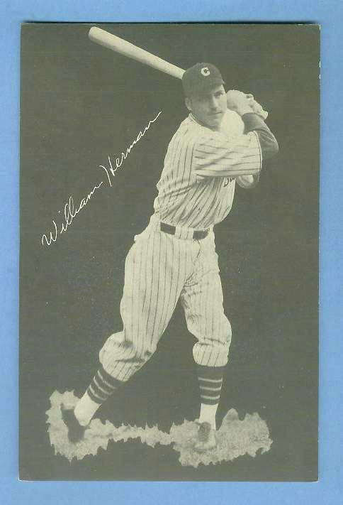 1932 Cubs Team Issue #12 Billy Herman Baseball cards value