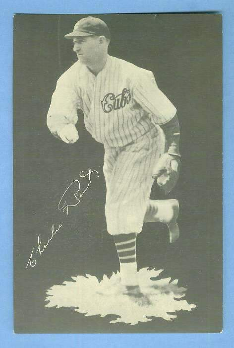 1932 Cubs Team Issue #20 Charlie Root Baseball cards value