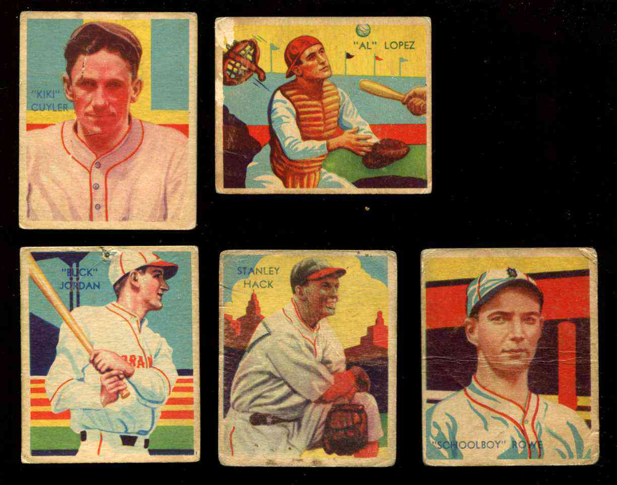 1934-36 Diamond Stars #33 'Schoolboy' Rowe (Tigers) Baseball cards value