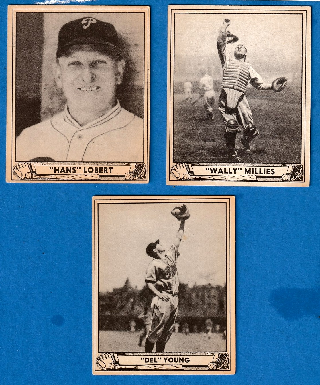 1940 Play Ball #218 Wally Millies ROOKIE (Phillies) Baseball cards value