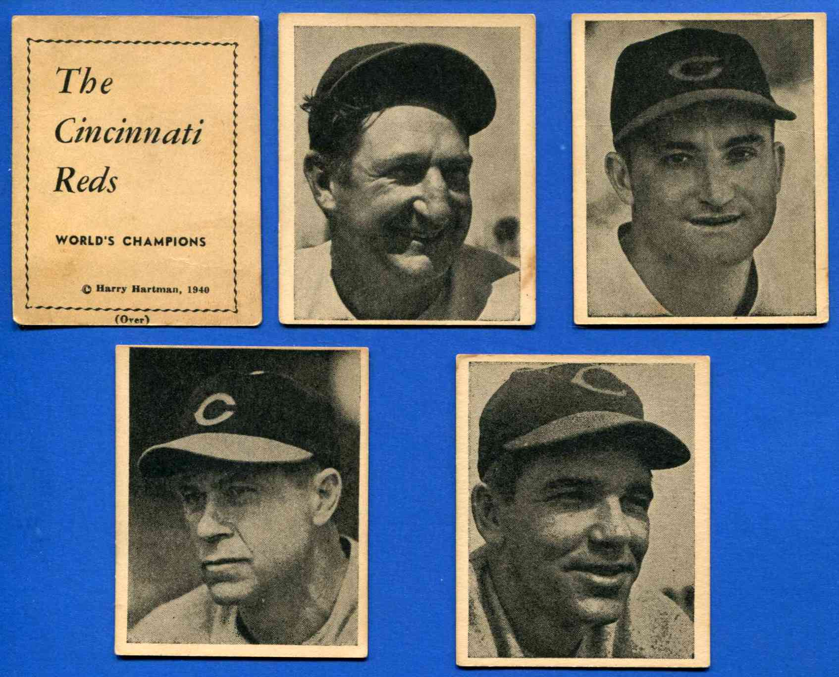 1941 Reds Harry Hartman #13 Ernie Lombardi [#dl] Baseball cards value