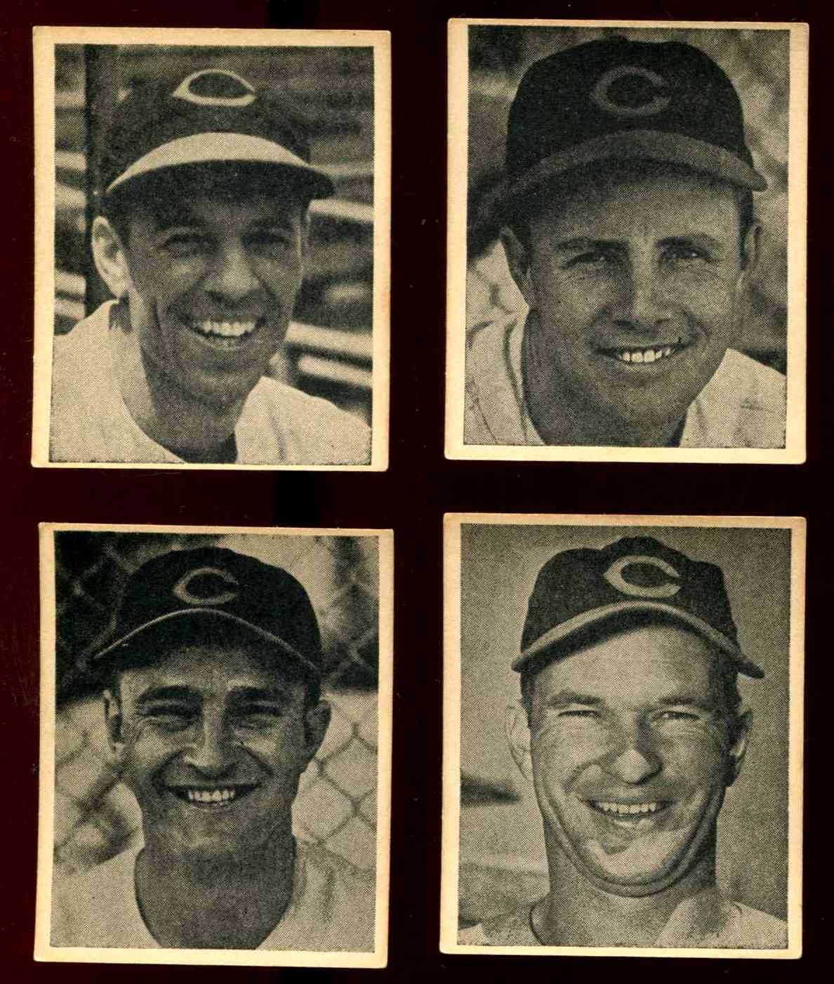 1941 Reds Harry Hartman #14 Frank McCormick Baseball cards value