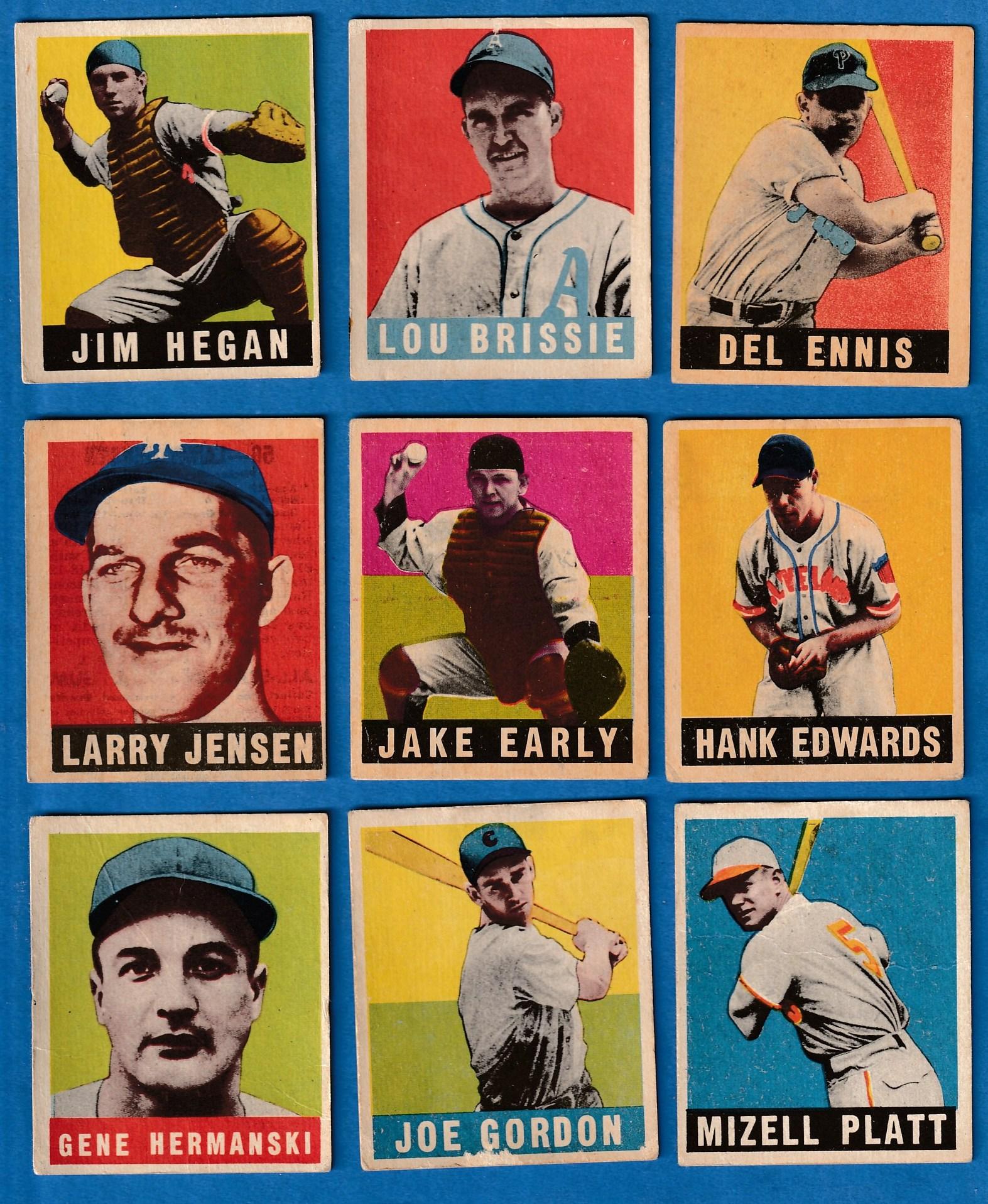 1948 49 Leaf Baseball Cards Set Checklist Prices Values