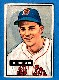 1951 Bowman # 62 Lou Boudreau (Red Sox, Hall-of-Famer)